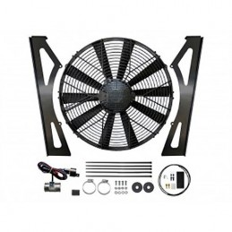 Electric High Power Suction Cooling Fan Kit - Range Rover Mk2 P38A 4.0 4.6 V8 Petrol Models 1994-2002 - supplied by p38spares
