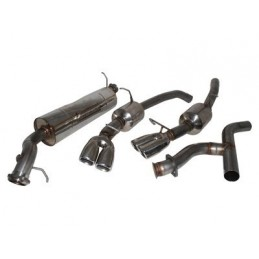 Stainless Steel Sports Exhaust System - Petrol Twin Tailpipe - Range Rover Mk2 P38A 4.0 4.6 V8 Models 1994-2002 www.p38spares.co