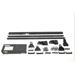 2 Piece Roof Bar Kit By Thule - Fixed Point 1200 Mm Wide - Range Rover Mk2 P38A 4.0 4.6 V8 & 2.5 Td Models 1994-2002 - supplie