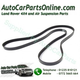 Range Rover P38 MKII BMW 2.5 TD Engine Serpentine Fan Drive Belt (with Air Conditioning fitted) 1995-2002