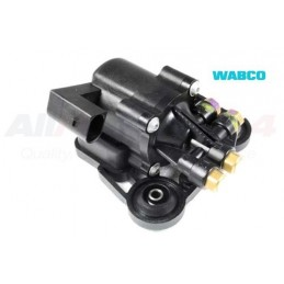 Front Air Suspension Soliniod Distribution Valve Block - 4.4 V8 & 3.0 Td To Vin 4A154877 Models 2002-2004 www.p38spares.com air,