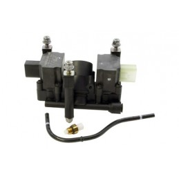 Air Suspension Distribution Valve Block Kit - 4.4 V8 & 3.0 Td To Vin 5A999999 Models 2002-2006 www.p38spares.com air, suspension