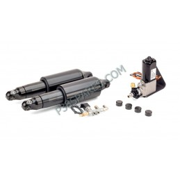 Harley-Davidson - Dyna Motorcycle Air Suspension Kit For Model Years 1991-2007 - Black - supplied by p38spares Harley-Davidson