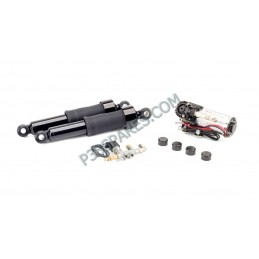 Harley-Davidson - Dyna Motorcycle Air Suspension Kit For Model Years 2008-2017 - Black - supplied by p38spares Harley-Davidson
