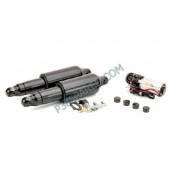 Harley-Davidson Motorcycle  Harley-Davidson - Touring Series Motorcycle Air Suspension Kit For Model Years 1990-2008 - Black Arn