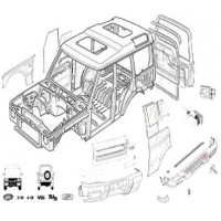 Land Rover Discovery 1 1989-1994 External Body Parts Parts from Allmakes, Britpart, OEM and Bearmach
