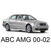 W220 with ABC Suspension (AMG, up to VIN290213) 2000-2002