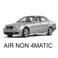 Mercedes-Benz W220 with AIRMATIC, without 4MATIC 1998-2006|Air Suspension Springs, Compressors, Coil Conversion Kits