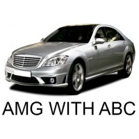 Mercedes-Benz W221 with ABC Suspension (AMG) 2007-2013|Air Suspension Springs, Compressors, Coil Conversion Kits