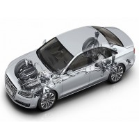 Audi A8 / S8 - D4/4H Chassis 2010-2016|Air Suspension Springs, Compressors, Coil Conversion Kits