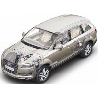 Audi Q7 All Models With Air Suspension 2006-2015|Air Suspension Springs, Compressors, Coil Conversion Kits