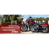 Dyna - Arnott Air Suspension Ride Kits for the Harley-Davidson® Dyna, Street Bob, Low Rider, Fat Bob and Wide Glide. UK based.
