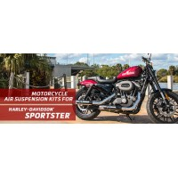 Sportster® Harley-Davidson Arnott Air Suspension Ride Kits for SuperLow, Iron 883, 1200 Custom, Forty-Eight, and Roadster. UK