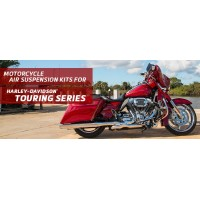 Touring Series - Arnott Air Suspension Kits for Harley-Davidson Road King, Street Glide, Road Glide, Electra Glide, and