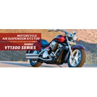 VT1300 - Arnott Air Suspension Ride Kits are for the 2009-2018 Honda VT1300 Series: Fury, Sabre, Stateline, and Interstate.