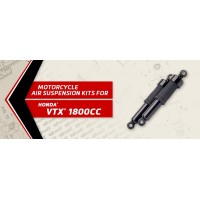 VTX 1800CC- Arnott Motorcycle Air Suspension Ride Kits for the rear shocks of the 2003-2009 Honda VTX 1800CC. UK based.