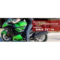 Ninja ZX -14 - Arnott Air Suspension Ride Kits for the 2006-2017 Kawasaki Ninja ZX-14 UK based.