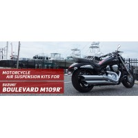 Boulevard M109R - Arnott Air Suspension Ride Kits for the rear shocks of your 2006-2017 Suzuki Boulevard M109R.