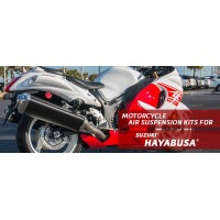 Hayabusa - Arnott  Air Suspension Ride Kits for the rear shocks of your 2008-2017 Suzuki Hayabusa.