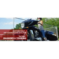 Baggers & Touring - Arnott Air Suspension Ride Kits for your 2010-2017 Victory Bagger or Touring.