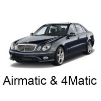Mercedes-Benz W211 with Airmatic, with 4MATIC (Excluding AMG) 2002-2009|Air Suspension Springs, Compressors, Coil Conversion