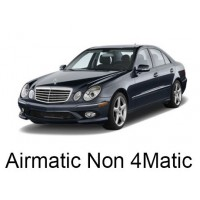 Mercedes-Benz W211 with AIRMATIC, without 4MATIC (Excluding AMG) 2002-2009|Air Suspension Springs, Compressors, Coil Conversion